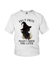 Witch Felt Cute Youth T-Shirt thumbnail