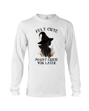 Witch Felt Cute Long Sleeve Tee thumbnail
