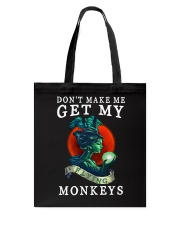 My Flying Monkey Tote Bag thumbnail