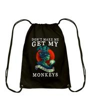 My Flying Monkey Drawstring Bag thumbnail