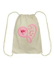 Half Of My Heart Drawstring Bag thumbnail