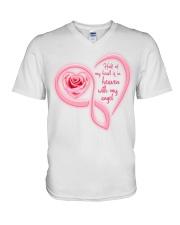 Half Of My Heart V-Neck T-Shirt thumbnail