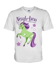 Neigh Lien V-Neck T-Shirt thumbnail