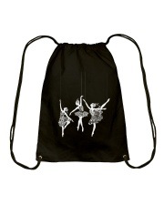 Give The Girls The Right Shoes Drawstring Bag thumbnail