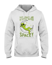 Lazy Crazy Hooded Sweatshirt front