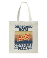 Disregard Boys Tote Bag thumbnail