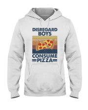 Disregard Boys Hooded Sweatshirt front