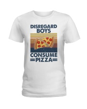 Disregard Boys Ladies T-Shirt thumbnail