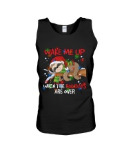 Wake Me Up Lazy Sloth Unisex Tank thumbnail