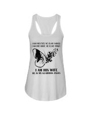 I Am His Wife Ladies Flowy Tank thumbnail