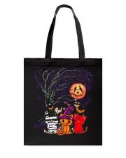 Halloween Cat Tote Bag thumbnail