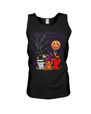 Halloween Cat Unisex Tank thumbnail