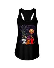 Halloween Cat Ladies Flowy Tank thumbnail