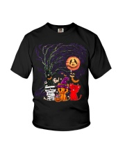 Halloween Cat Youth T-Shirt thumbnail