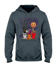 Halloween Cat Hooded Sweatshirt thumbnail