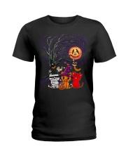 Halloween Cat Ladies T-Shirt thumbnail