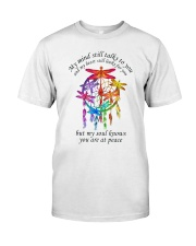My Mind Talk To You Classic T-Shirt front