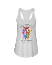 My Mind Talk To You Ladies Flowy Tank thumbnail