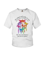 My Mind Talk To You Youth T-Shirt thumbnail