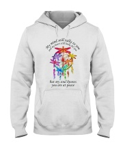 My Mind Talk To You Hooded Sweatshirt tile