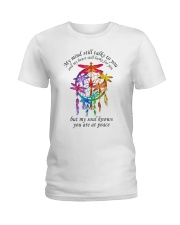My Mind Talk To You Ladies T-Shirt thumbnail