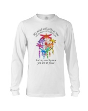 My Mind Talk To You Long Sleeve Tee thumbnail