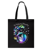 You Will Be Remembered Tote Bag thumbnail