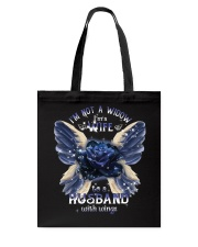 I Am Not A Widow Tote Bag tile