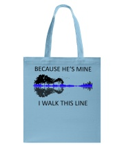 Because He Is Mine Tote Bag thumbnail