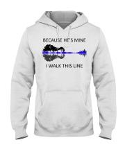 Because He Is Mine Hooded Sweatshirt thumbnail