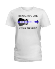 Because He Is Mine Ladies T-Shirt thumbnail