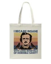 I Became Insane Tote Bag thumbnail