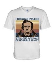I Became Insane V-Neck T-Shirt thumbnail