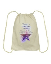 Theres A Million Thing Drawstring Bag tile
