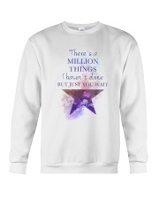 Theres A Million Thing Crewneck Sweatshirt tile