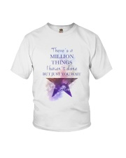 Theres A Million Thing Youth T-Shirt thumbnail