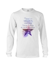Theres A Million Thing Long Sleeve Tee thumbnail