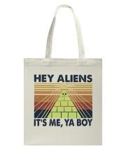 Hey Aliens Tote Bag thumbnail