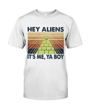 Hey Aliens Classic T-Shirt front