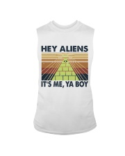 Hey Aliens Sleeveless Tee thumbnail