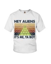 Hey Aliens Youth T-Shirt thumbnail