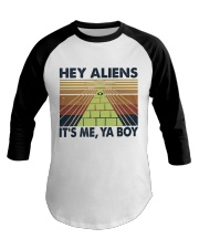 Hey Aliens Baseball Tee thumbnail