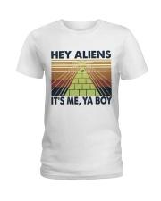 Hey Aliens Ladies T-Shirt thumbnail