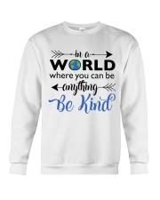 Be Anything Be Kind Crewneck Sweatshirt thumbnail