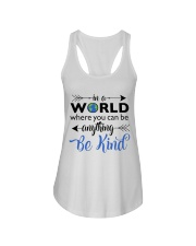 Be Anything Be Kind Ladies Flowy Tank thumbnail