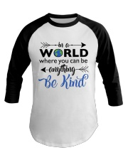 Be Anything Be Kind Baseball Tee thumbnail