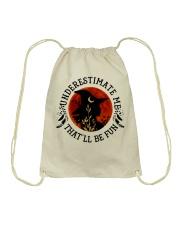 Underestimate Drawstring Bag thumbnail
