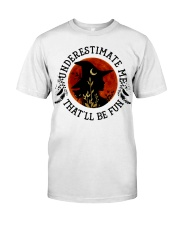 Underestimate Classic T-Shirt front