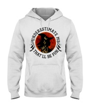 Underestimate Hooded Sweatshirt thumbnail