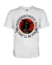 Underestimate V-Neck T-Shirt thumbnail